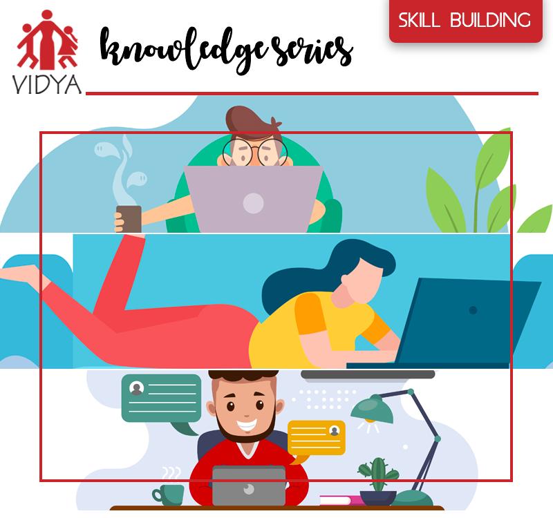 "VIDYA Webinar – The ""Knowledge Series"""